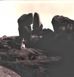 Femme dans les rochers la Momie du Christgamma